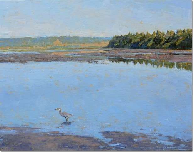 Summer at Deer Lagoon with Heron