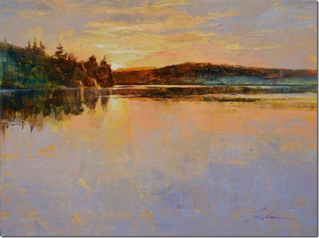 Sunrise Deer Lagoon