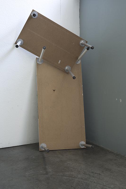"27""x40"", Flatpack Furniture, Inkjet on dibond, 2015"