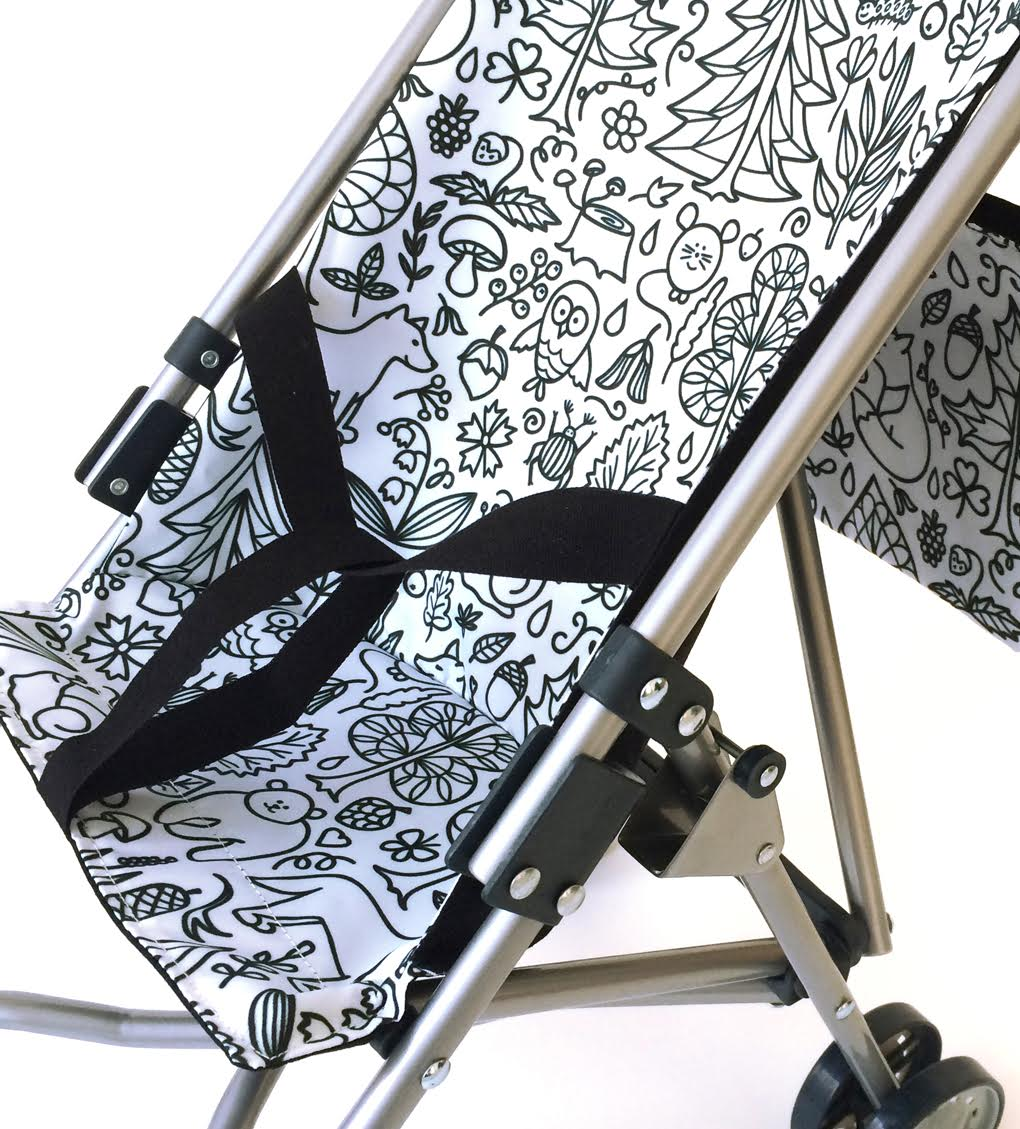 1. PIMP MY STROLLER, toy pushchair. 10% off in The Mamahood Marketplace