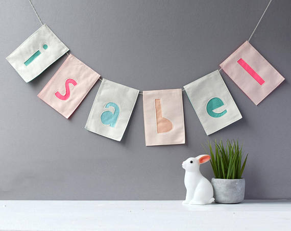 HOUSE OF HOORAY - Personalised handmade bunting from this wonderful independent brand