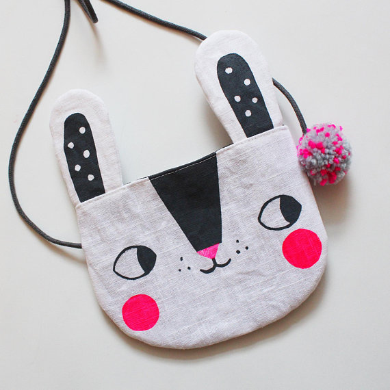 JULIA STAITE - Sweet bunny rabbit bag