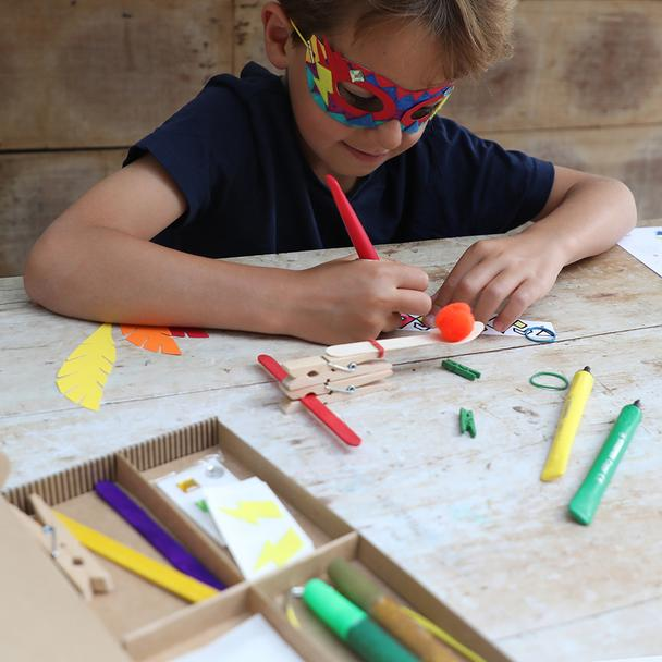 Adventurers Craft Activity Box : CottonTwist
