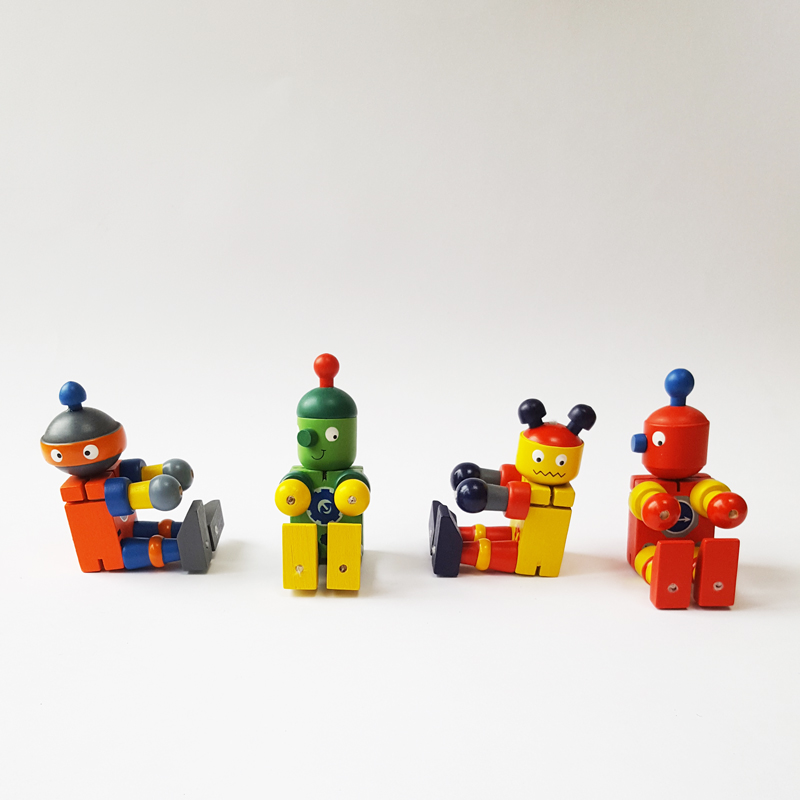 Wooden Robots: Littlelulubel