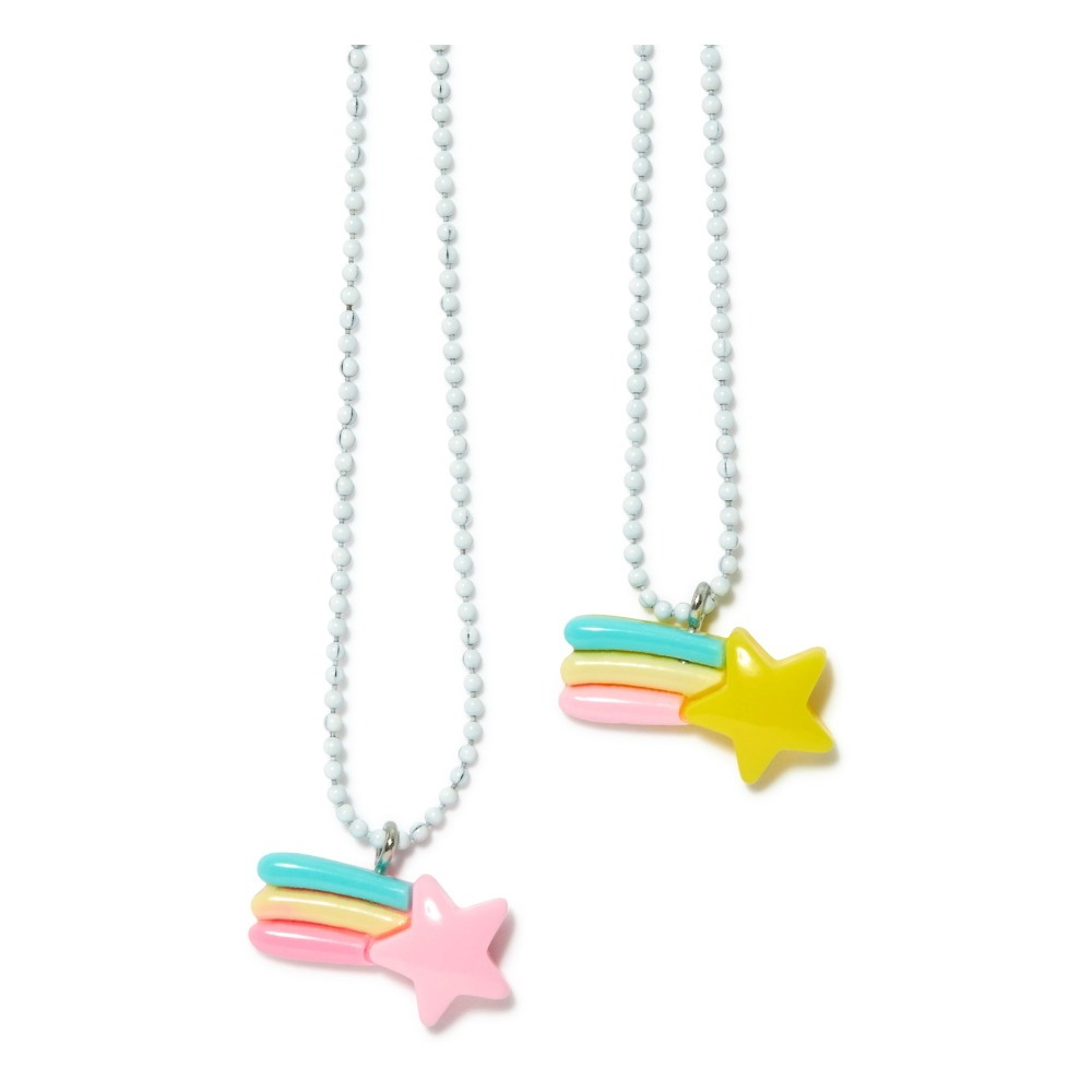 BFF Shooting Star Necklace : Arlette Gold