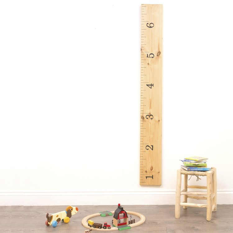 Hand-painted Height Chart: Family Rule