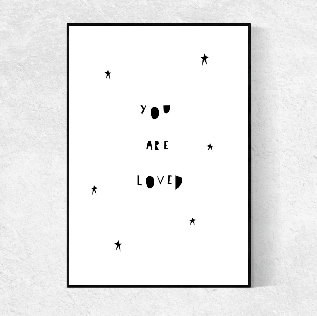 Ingrid Petrie: You Are Loved Print