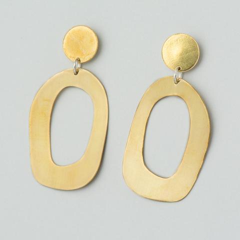 Earrings: Arlette Gold