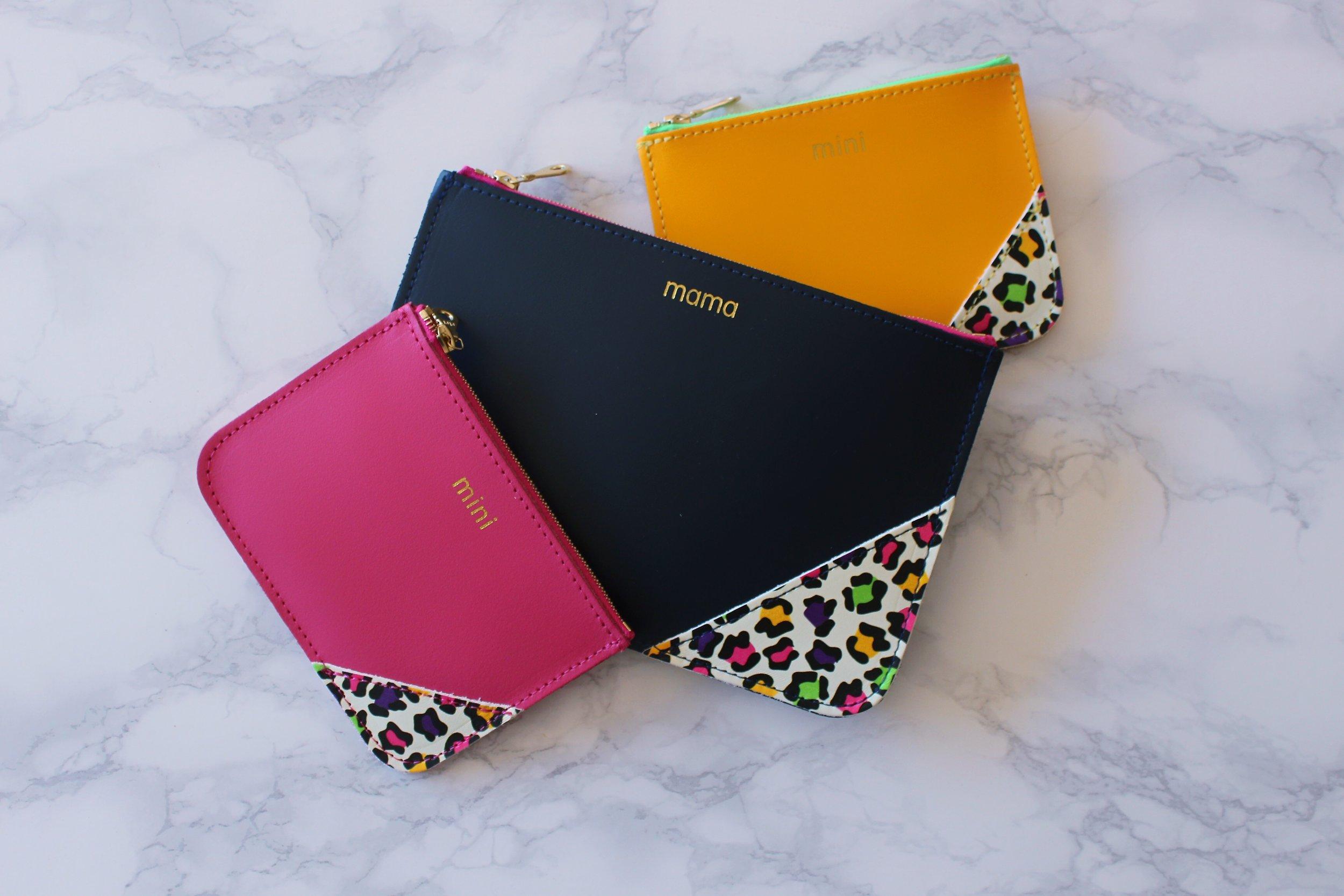 Mama & Mini purses: Mamahood X Honey & Toast