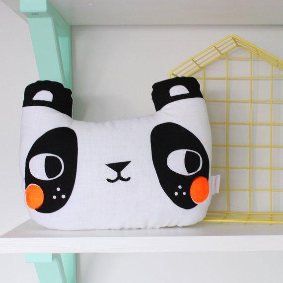 Panda Cushion: Julia Staite