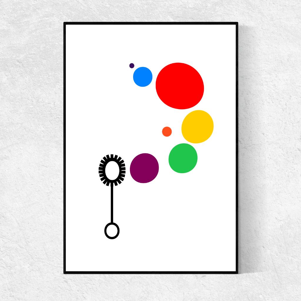 Rainbow Print: Ingrid Petrie