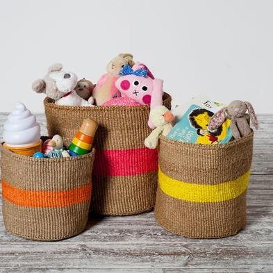 Colour Pop Baskets: Avery Row