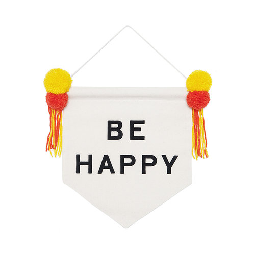 Be Happy Banner: The Sewcial Circle