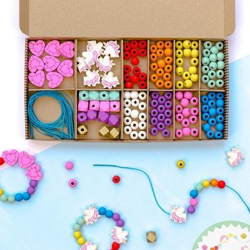 Rainbow Beading Kit: Cotton Twist
