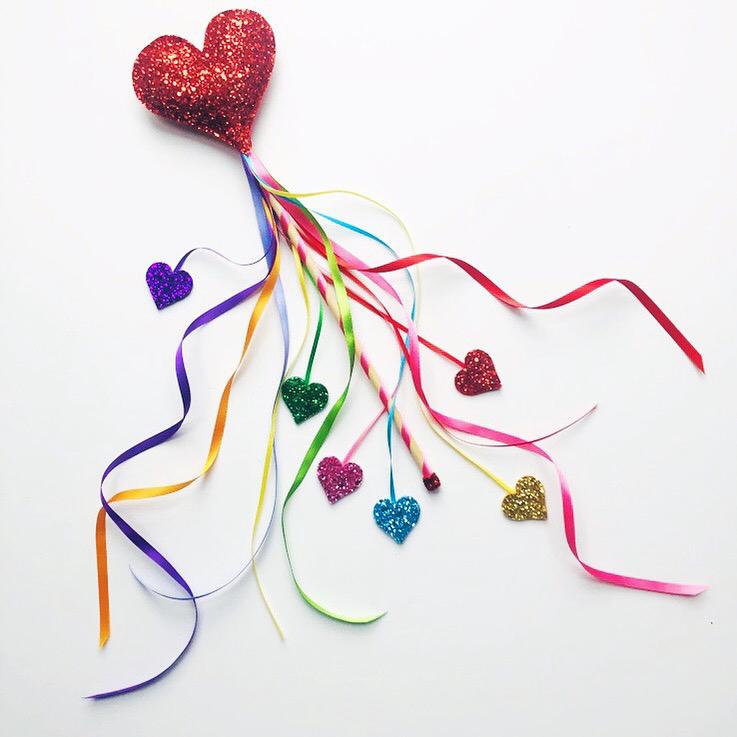 Sparklechild: Valentine Wand