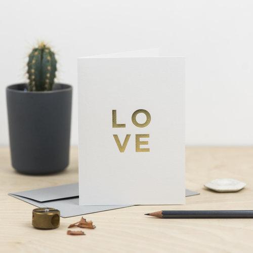 RUBYBLUE DESIGN - Love Card