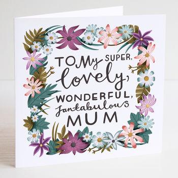 LAUREN RADLEY - Mothers Day Card