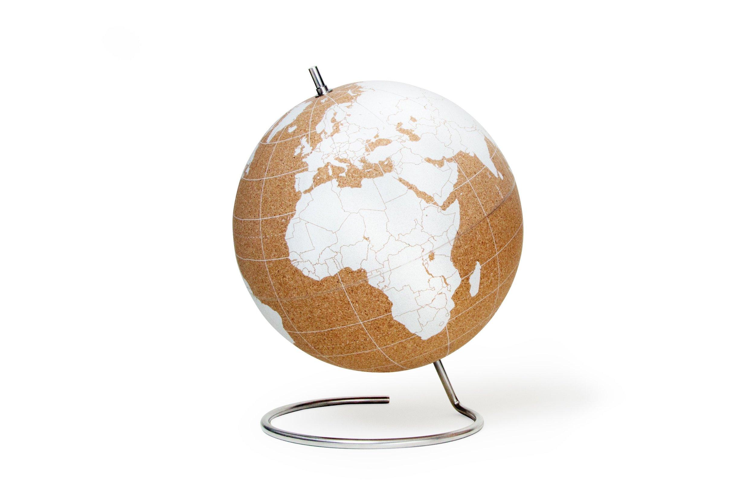 Cork Globe - Cissy Wears