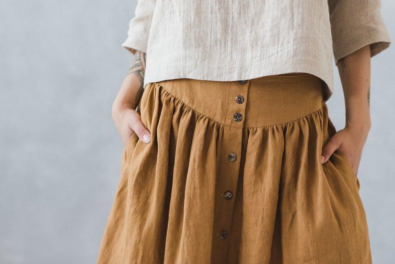 Linen Skirt - EpicLinen