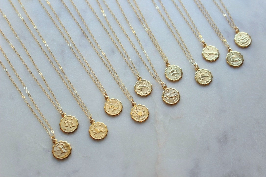 Zodiac necklace - Laalee