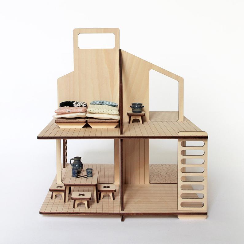 Wooden Dolls House - Milky Wood