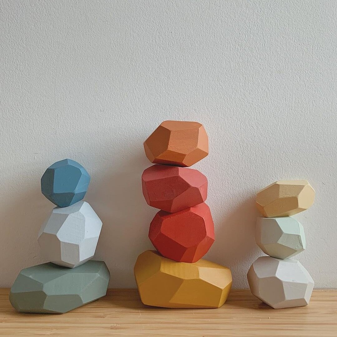 Handcrafted, sustainable wooden toys: Happy Little Folks
