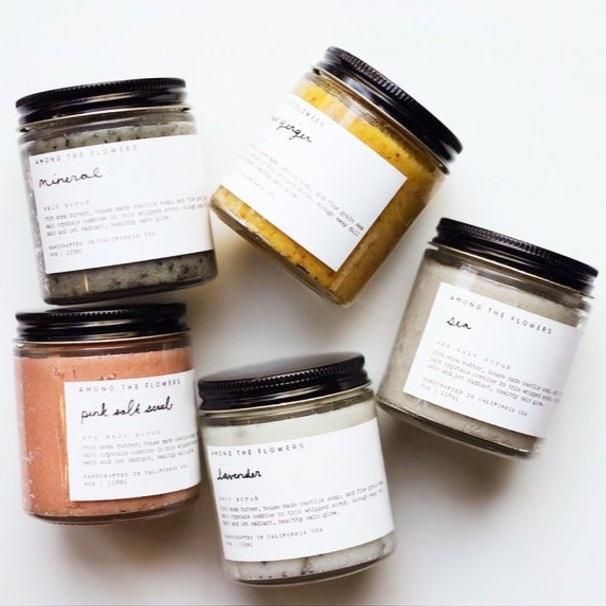 Salt Scrub: Shop Among the Flowers