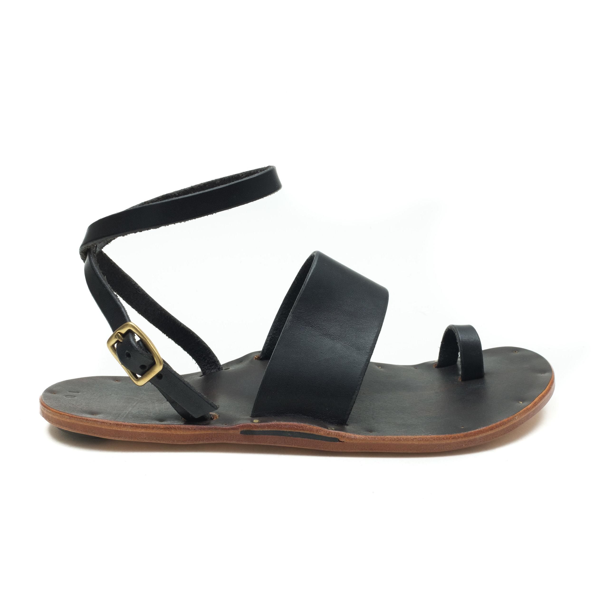 Toe Loop w/ Ankle Strap - Sandals - KikaNY