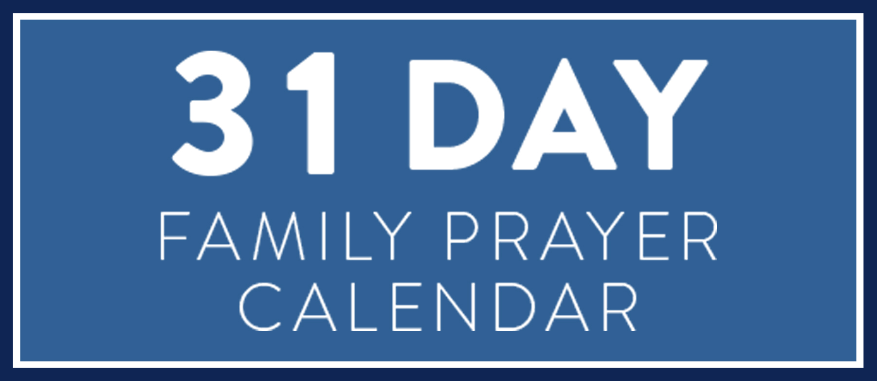 Start a family habit of praying together this month! Use these 31 days of prayer prompts to pray as a family all month long. Pray at breakfast, dinner, in the car or at bedtime but use this guide to help your whole family pray each day.