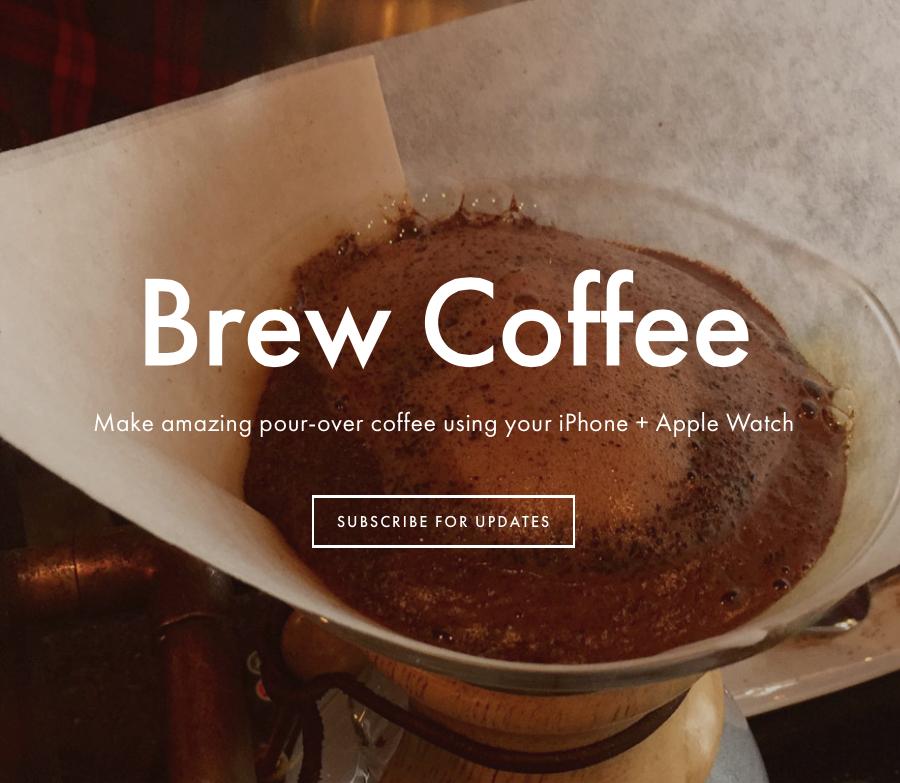 Brew Coffee App