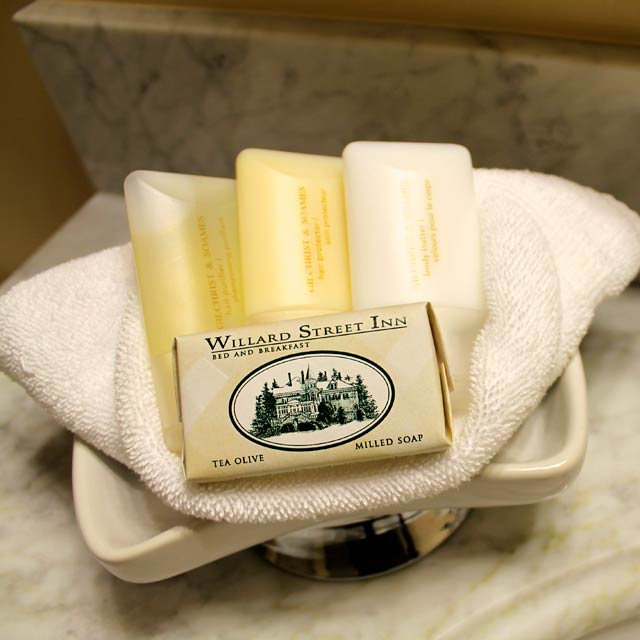 High quality Gilchrist & Soames amenities are included in each guestroom.