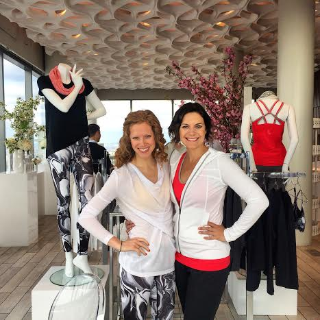 Wantable's Lindsey Townsley (left) with Wantable's Head Buyer Sarah Dusseau