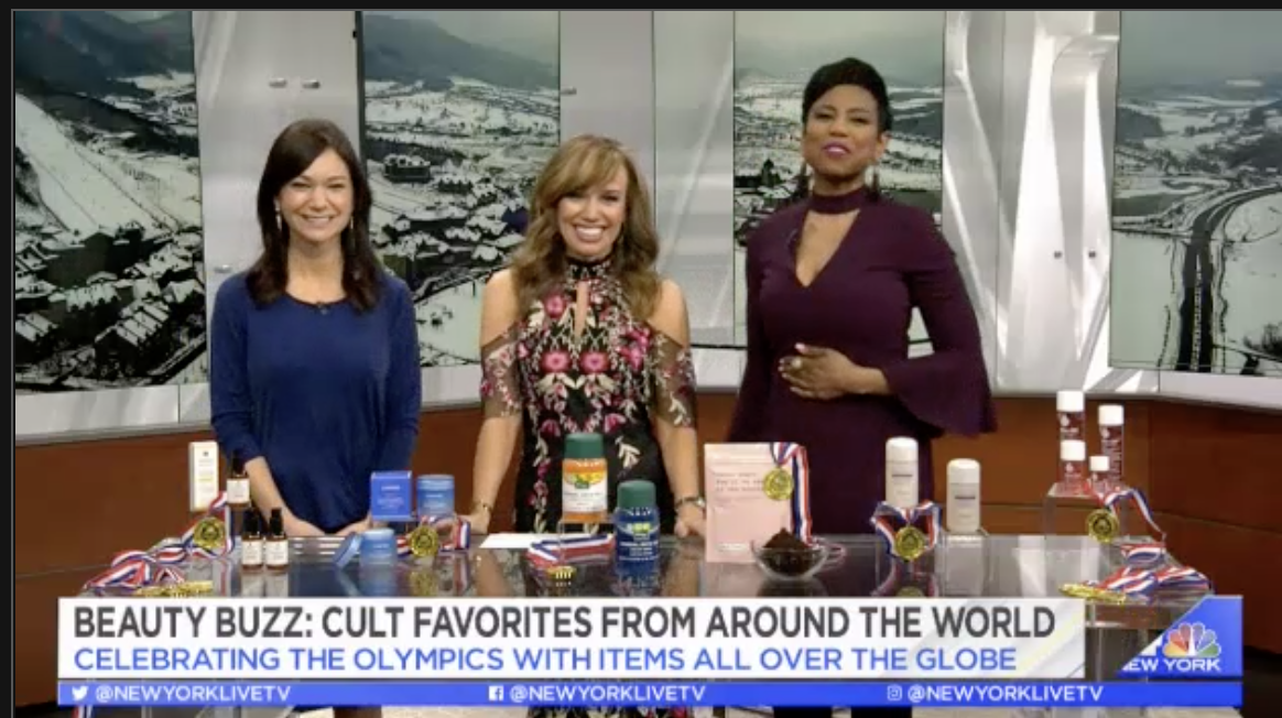 NBC New York Live - Gold Medal Worth Beauty Buys from Around the World