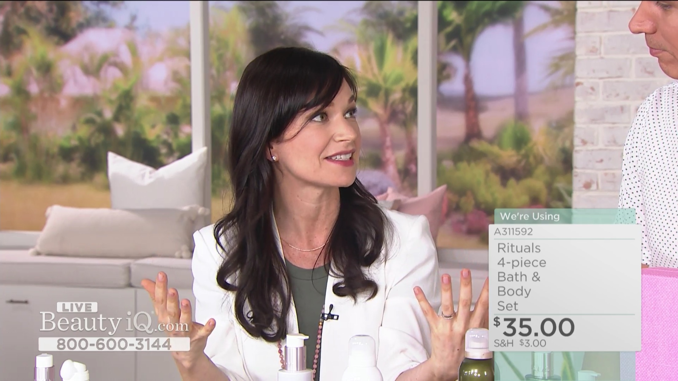 QVC Beauty IQ with Rituals