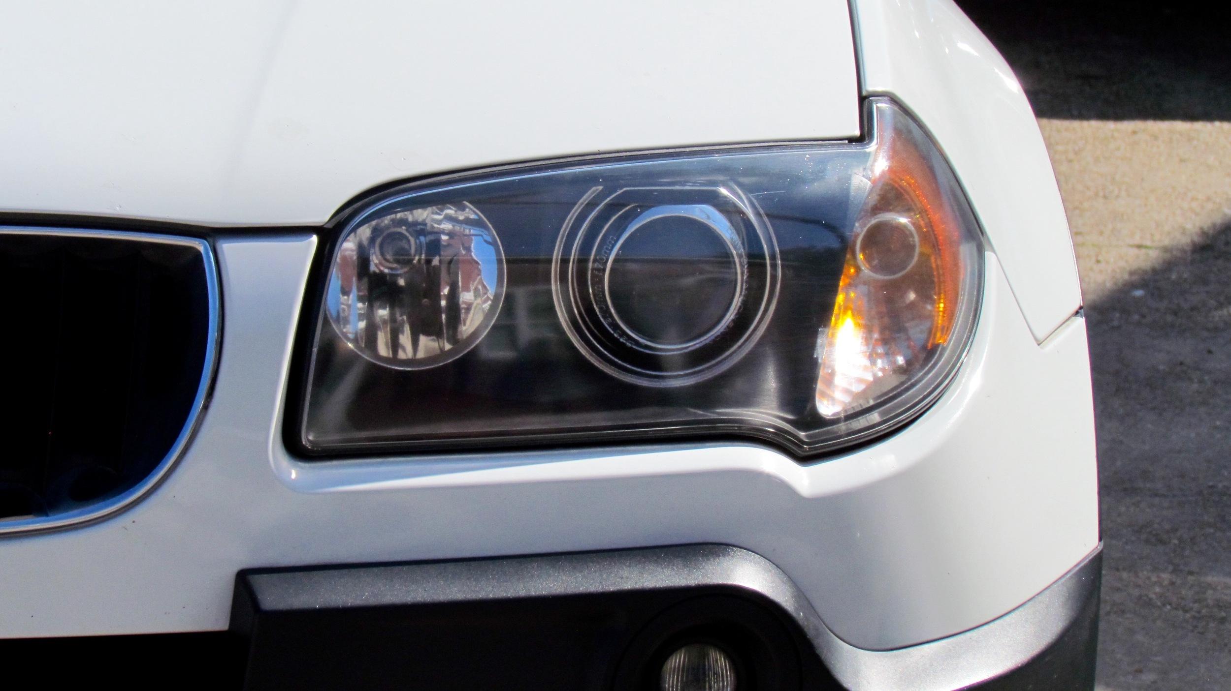 BMW X5 (Headlight Restoration)