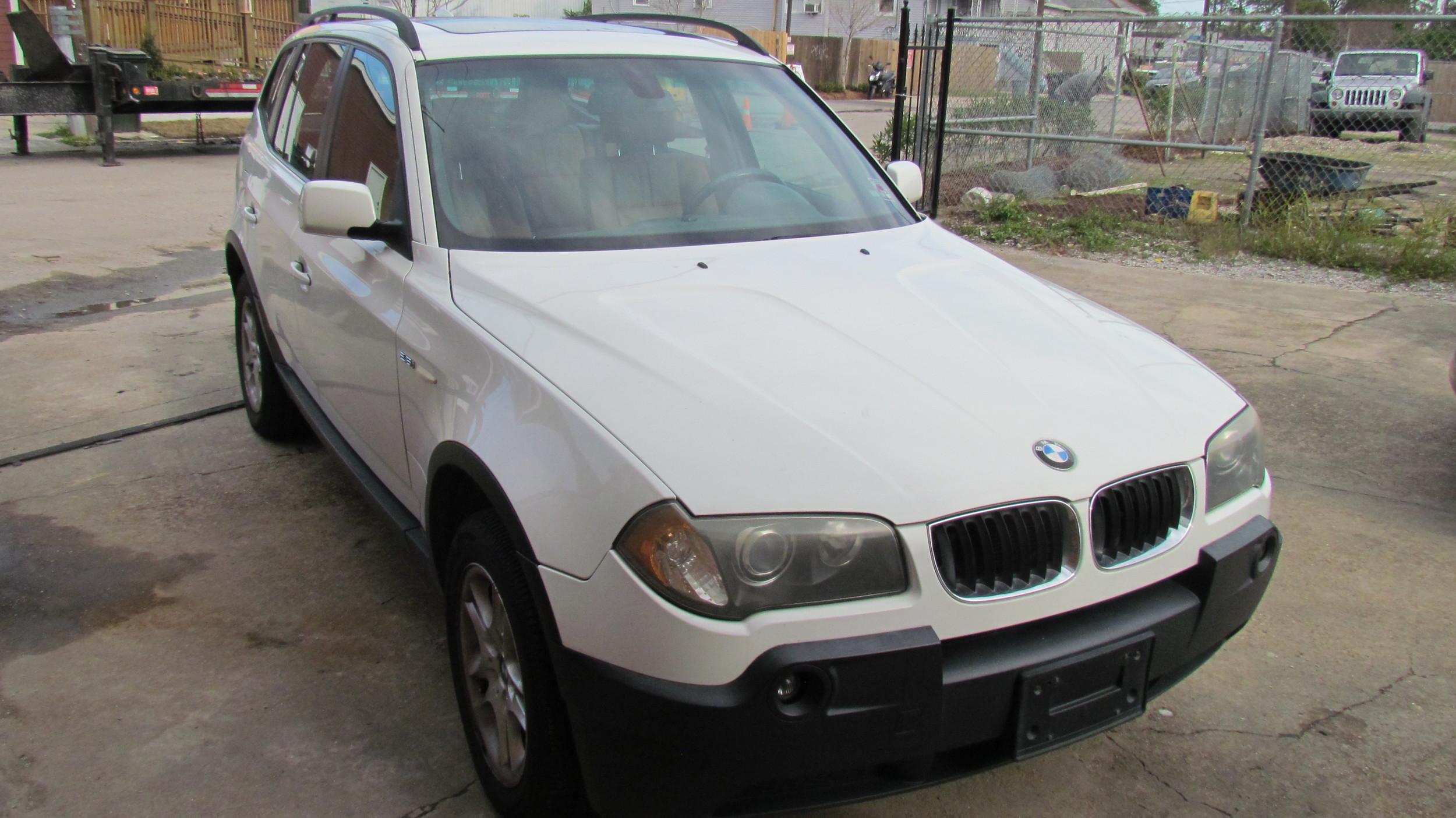 BMW X5 (Clean Slate)