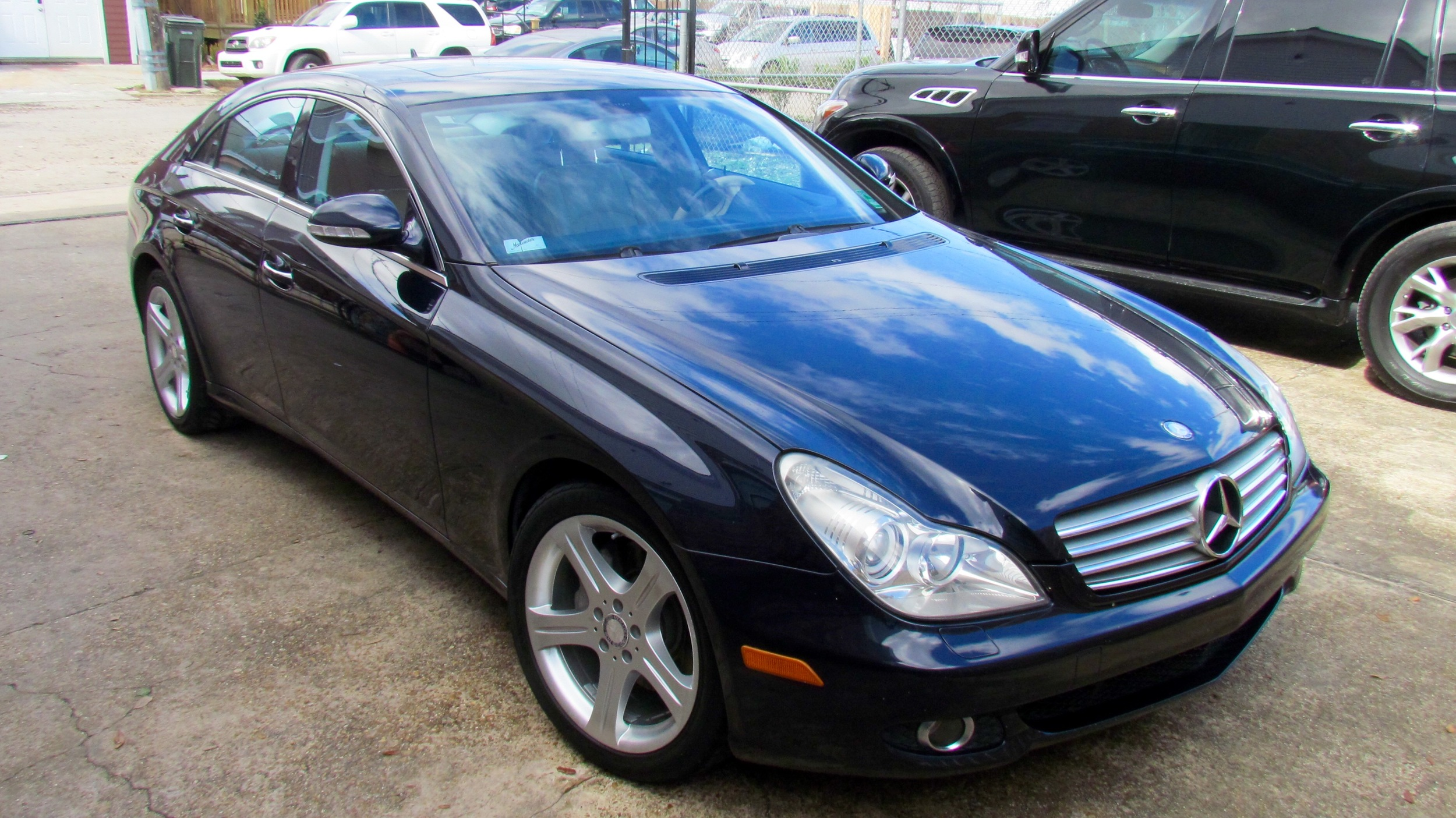 Mercedes-Benz CLS550 (Clean Slate)