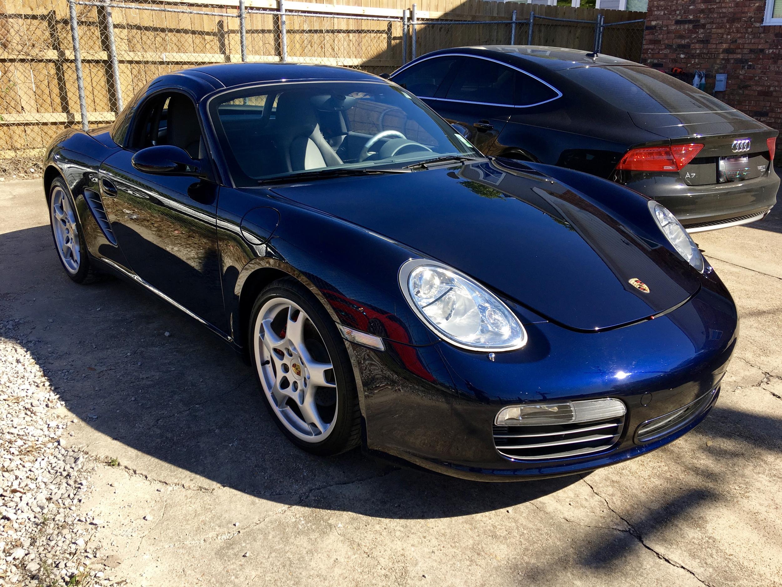 Porsche Boxster S (New Car Slate)