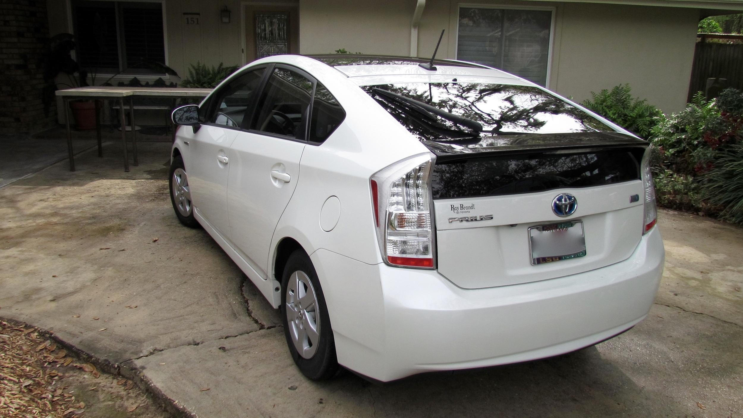 Toyota Prius (Clean Slate)