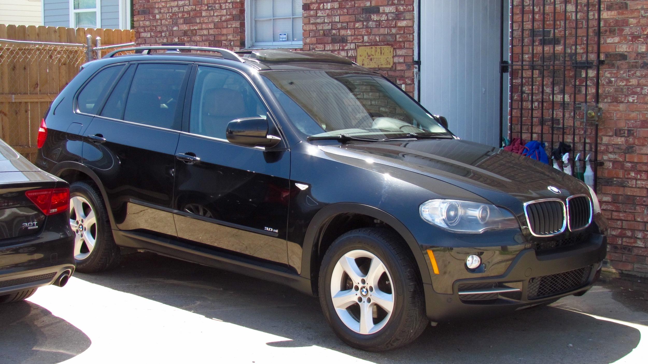 BMW X5 (New Car Slate)