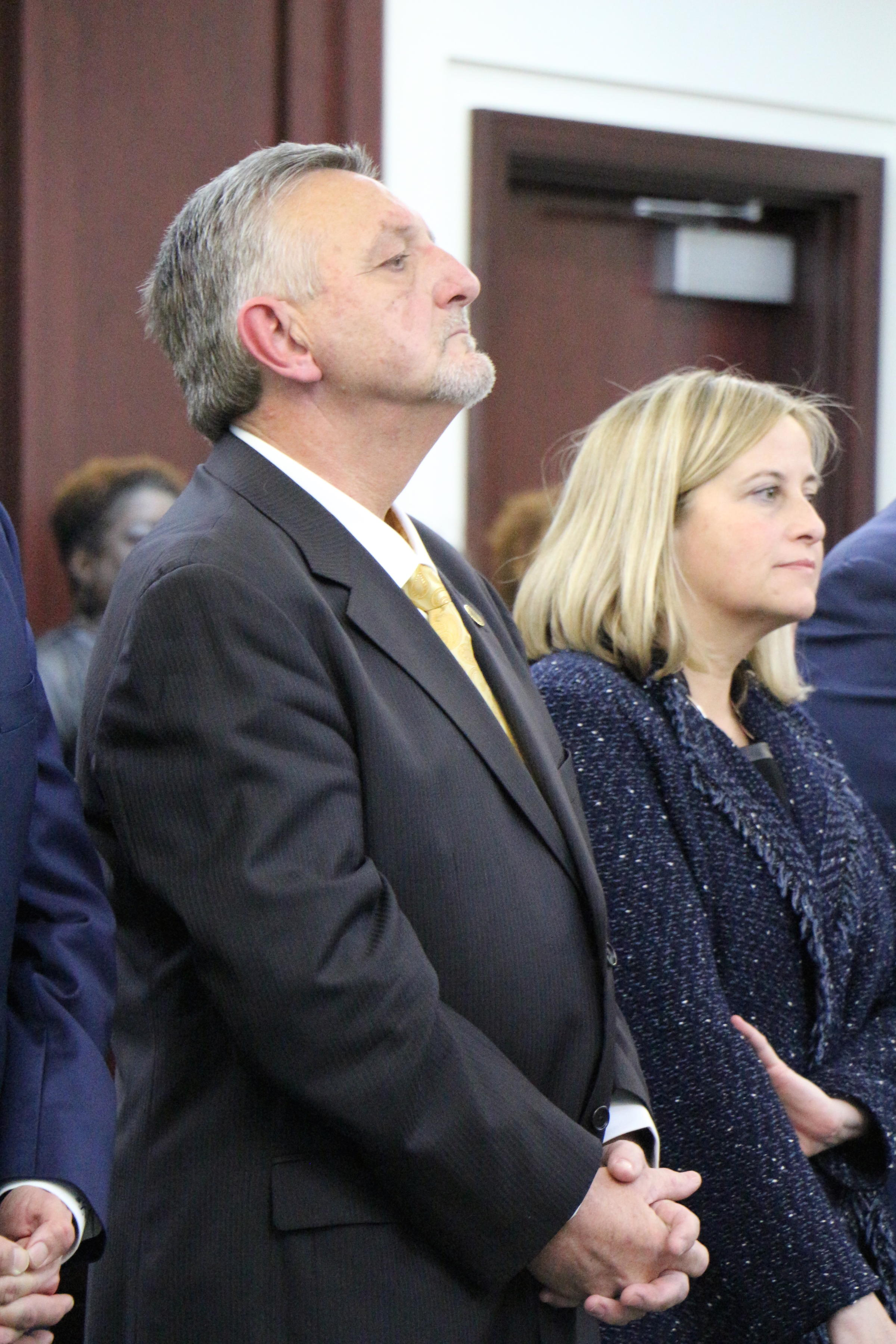 Judge Casey Moreland will see defendants each week in the new trafficking intervention court.