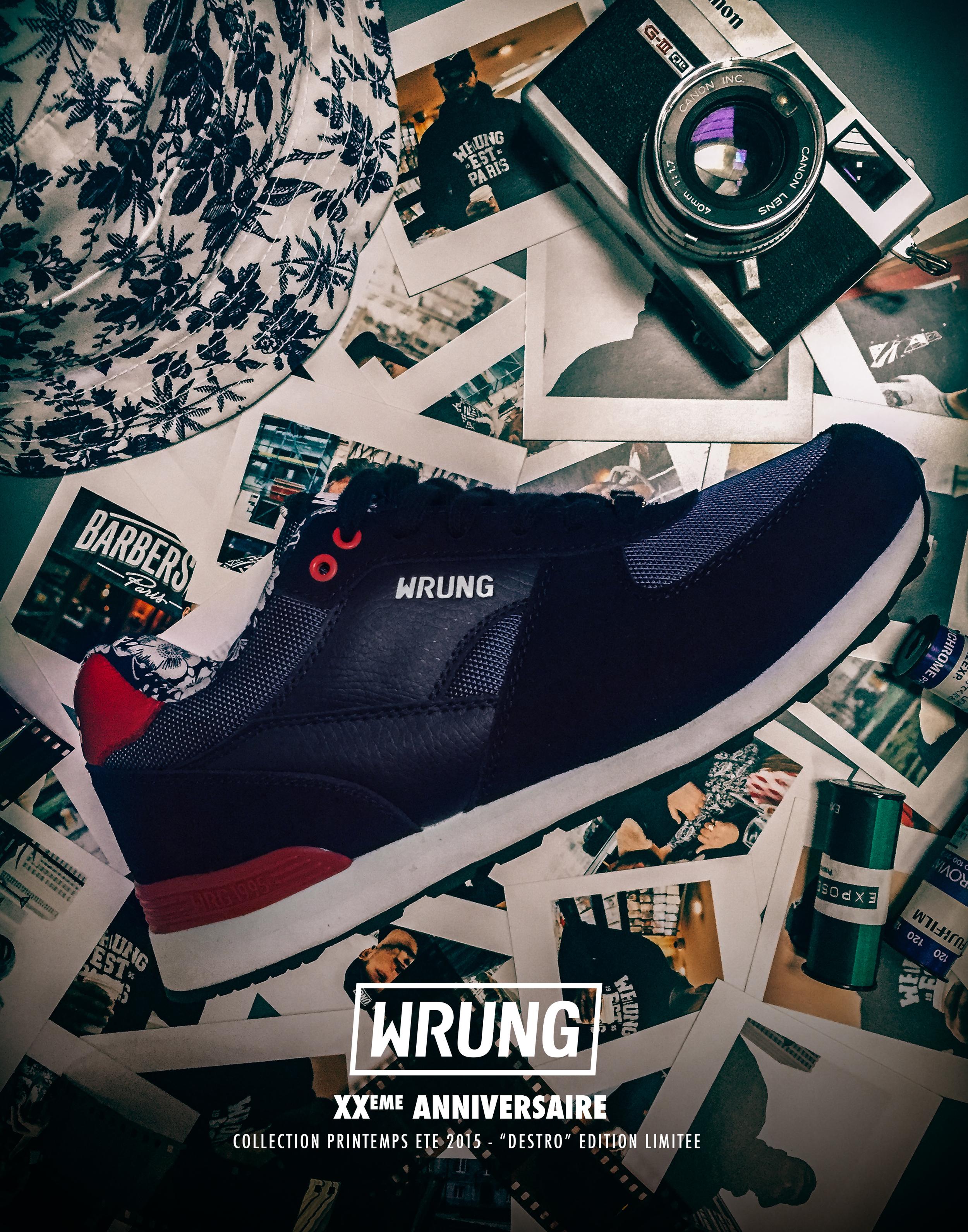 """WRUNG """"Destro"""" Sneakers"""