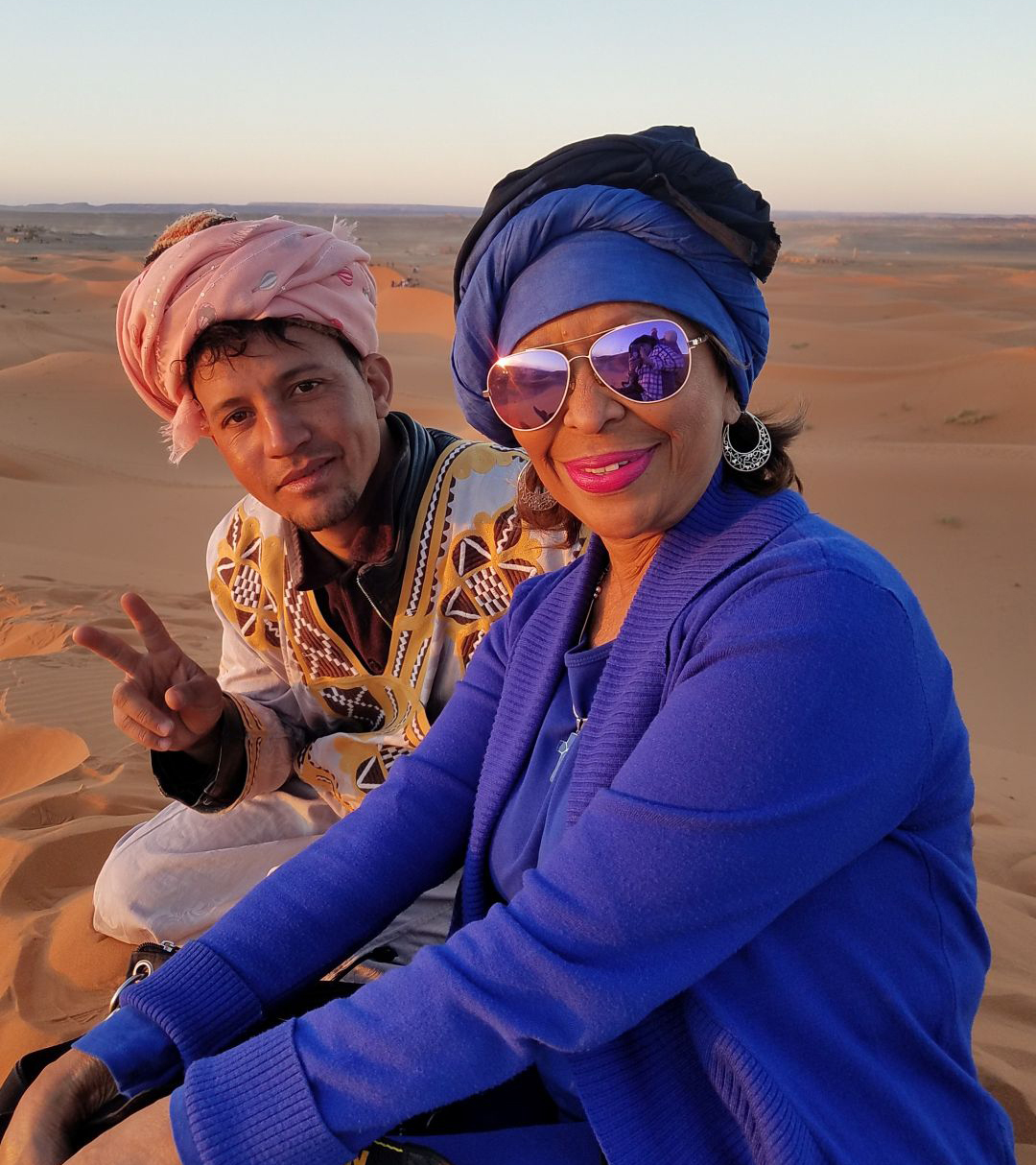 Moroccan adventures — and don't call her a Cougar — photo Janet Schubert