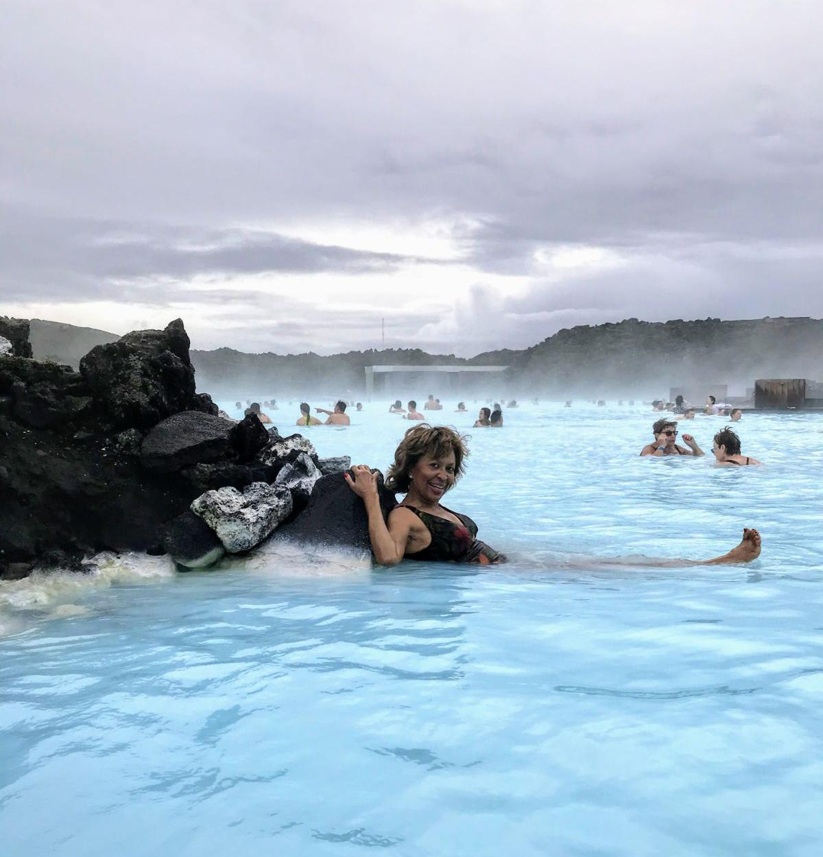 The Blue Lagoon - photo Elizabeth Simpson