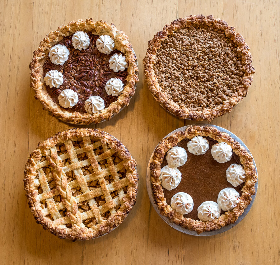 Holiday pies will be available for ordering soon!
