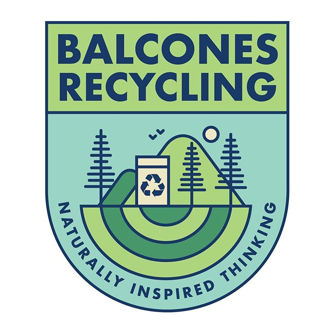 Client @balconesresources needed a next gen emblem to capitalize on their iconic original logo. We love how this turned out. Pretty fab! 🌍 ♻️ 💗