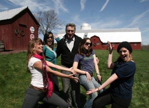 This is my all time favorite photo from the filmmaking days. I'm 2nd from the right, popping my booty for DeNiro.
