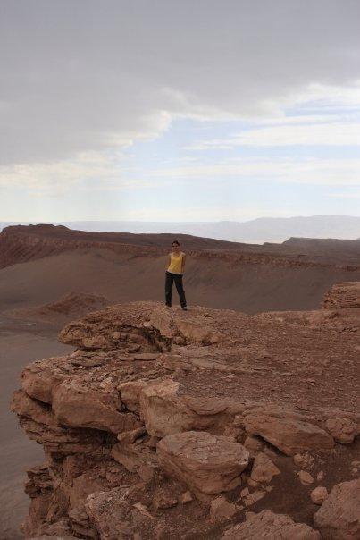 At the Atacama Desert in Chile