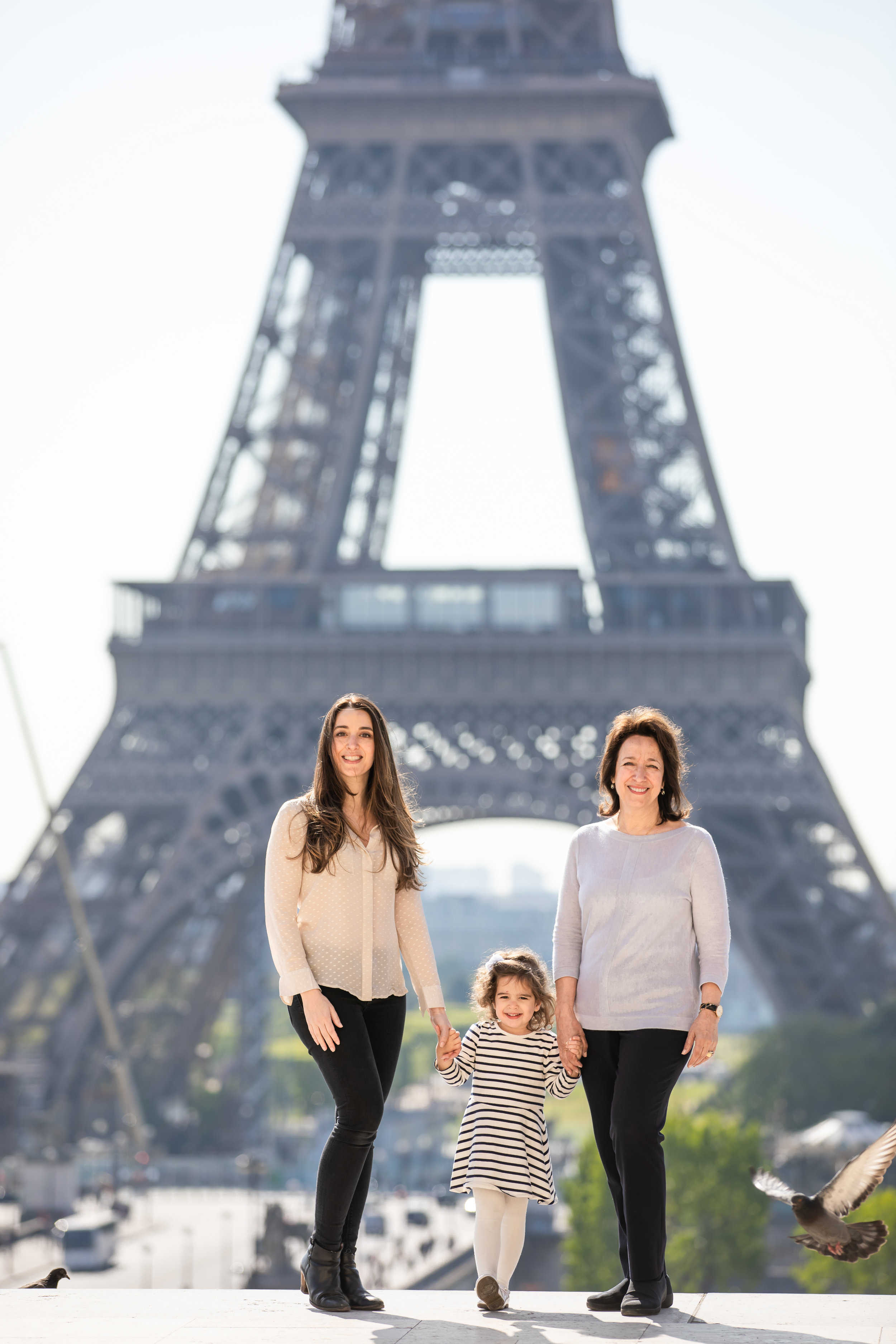 Three generations in Paris last week. Photo Credit: @_ parispics _