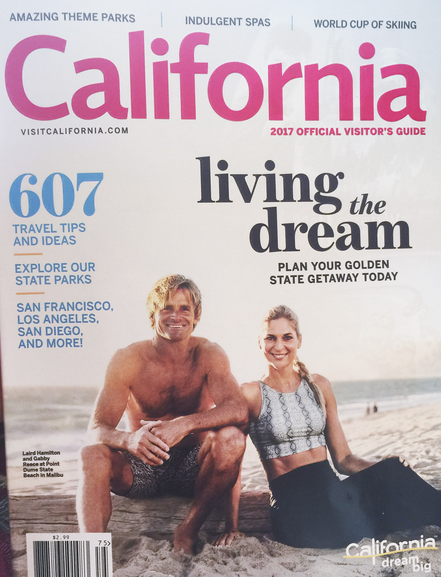 2017 Visit California Magazine